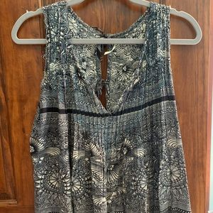 Free People Blue Tank S